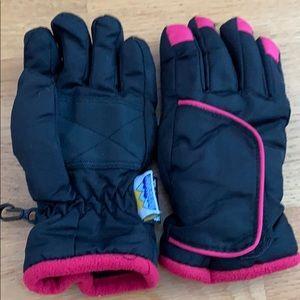 Thinsulate kids waterproof gloves